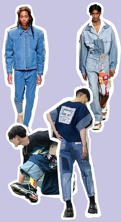 Idea de prendas deconstruidas como 5 maneras de utilizar denim en tus outfits