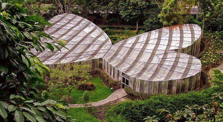 Mariposario del Jardín Botánico de Cali
