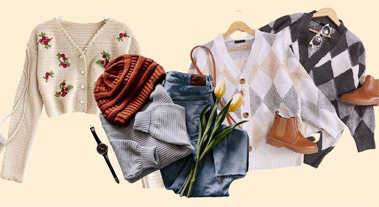 Prendas de moda y estética cottagecore