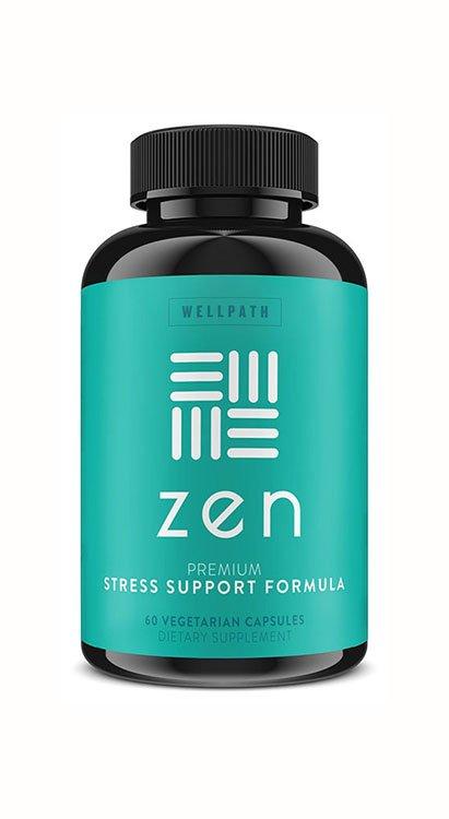 Suplemento para Ansiedad y Alivio de Estrés Zen Premium Formula